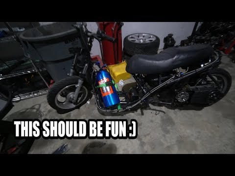 NITROUS + SCOOTER = BOOM!