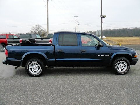 Cheap used truck for sale, 2002 Dodge Dakota Sport # F402260B