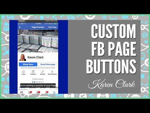 Social Media Marketing: Add Custom Buttons to Your Facebook Business Page