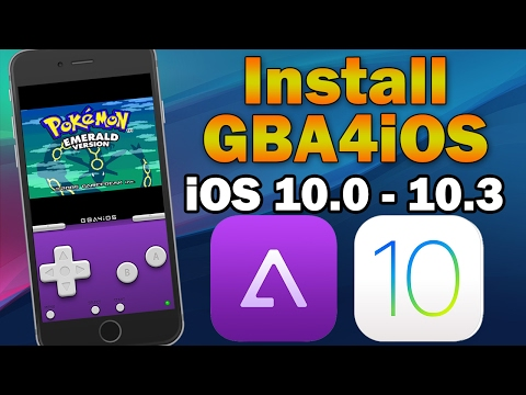 How To Install GBA4iOS Gameboy Emulator on iOS 10.0 - 10.3 (No Jailbreak) iPhone, iPod touch & iPad