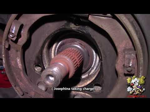 Camaro Rear wheel bearing Replacement - (2010-2015)
