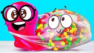 UNBEARABLE CANDY BAG and Slick Slime Sam