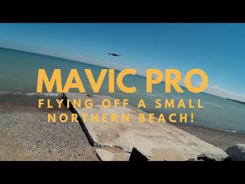 Mavic Pro - Flying Off A Small Northern Beach!