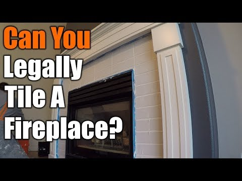 Should You Tile Around Your Fireplace??  | THE HANDYMAN |