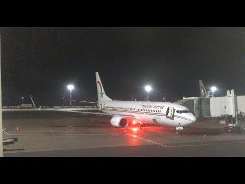 Delayed | Royal air Maroc flight | Boeing 737-800 & ATR 72-600