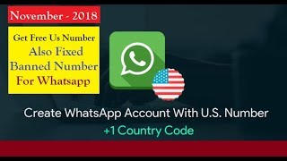 Free US Number for WhatsApp Verification or Any Account Activation