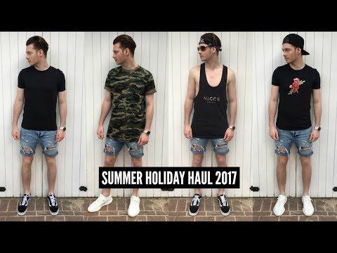 Mens Fashion Haul Summer 2017 - Affordable Holiday Pick Ups