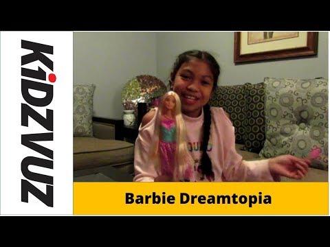 KidzVuz Review:  Barbie Dreamtopia Endless Hair