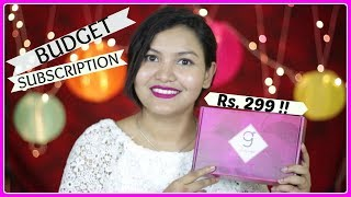 Top trending Subscription Box in India - Glamego Box / INDIANGIRLCHANNEL TRISHA