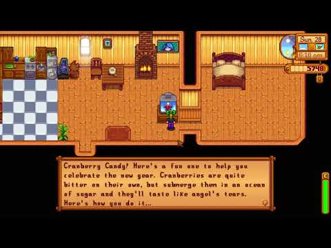 How to learn Cranberry Candy cooking recipe - Stardew Valley