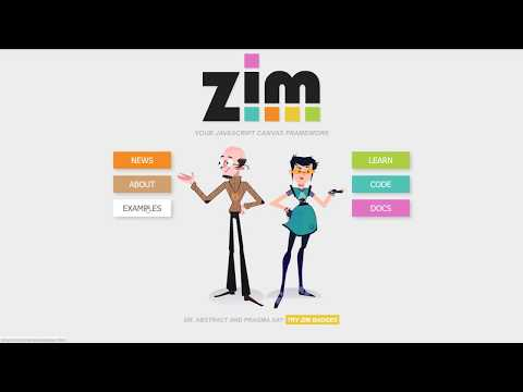 ZIM Highlight Reel for the #JavaScript #HTML #Canvas powered by #CreateJS and #ZIMjs