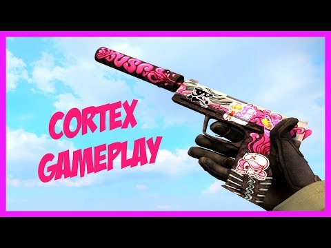 CS:GO / USP-S | Cortex Pistol Gameplay / 1080p60