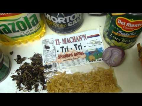Snow Crab with Du riz djon-djon---The Haitian way!!!