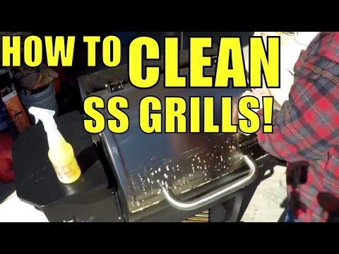 Cleaning SS Grills