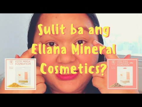The Best Full Coverage Powder Foundation!?! - Ellana Mineral Cosmetics Loose Mineral Foundation!