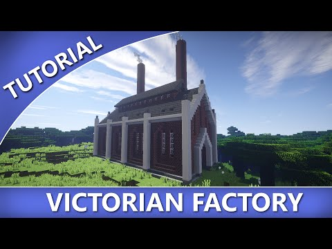 Minecraft - How to Build a Victorian Factory