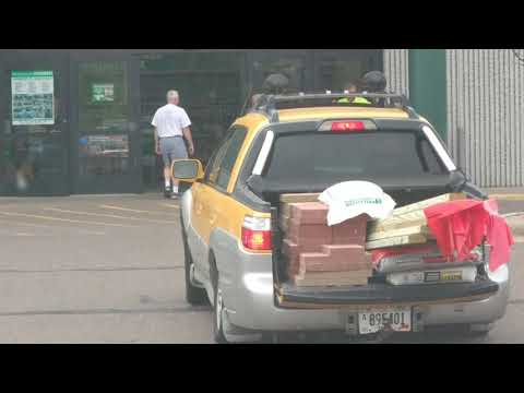 Subaru Overloaded With Lumber At Menards Low Rider Riding Dirty East Coast Customs Edition