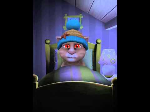 [My Talking Tom] Pee at bed