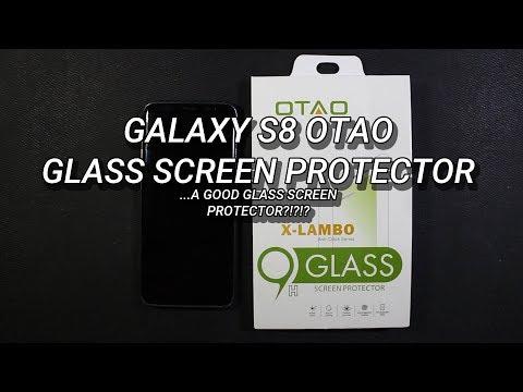 Galaxy S8 OTAO Glass Screen Protector