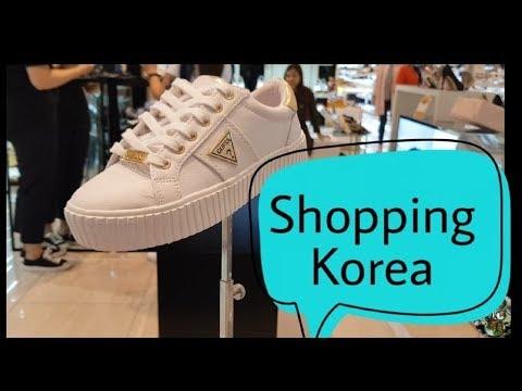 Underground Shopping to AK Plaza Department Store //Subway shop Korea