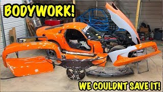 "Rebuilding A Wrecked 2014 Dodge Viper TA ""TIME ATTACK"" PART 10"