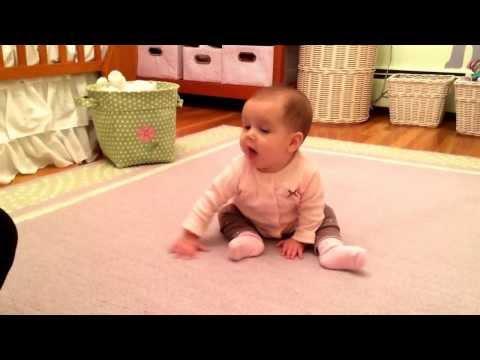 Baby sitting to crawling ...