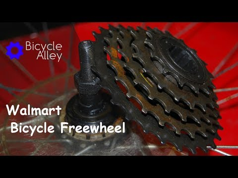 How To Remove And Install A Freewheel Cassette Sprocket On A Bicycle