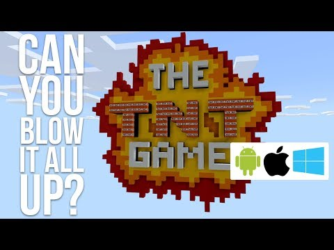 The TNT Game: How Fast Can You Blow It Up? (Minecraft Marketplace)