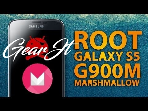 Root&Recovery Samsung S5 G900H, Android marshmallow 6.0.1 julio 2016