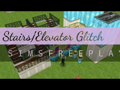 Duplicate Stairs/Elevators | Sims Freeplay