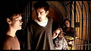 lock stock and 2 smoking barrels - cage scene