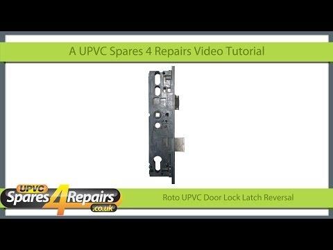 Roto UPVC Door Lock Case Latch Reversal