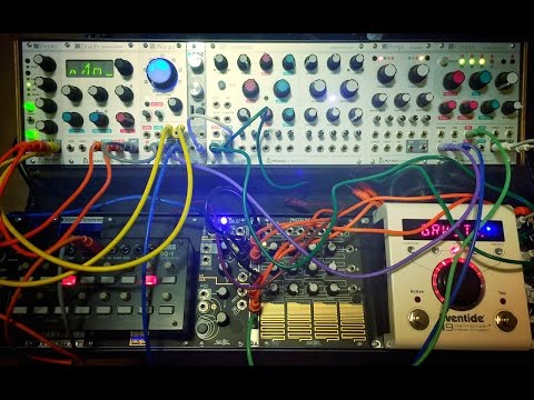 Mutable Instruments Peaks & Warps: A Non-Musical Experimental Test