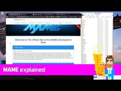 MAME Explained - how to setup MAME for Arcade Games, Artwork etc.