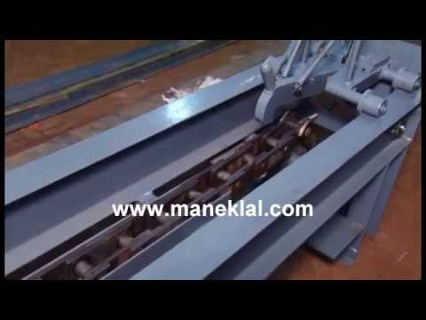 Manek - Draw Bench / Bar Drawing Machine Model: BDM-20