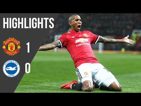 Manchester United 1-0 Brighton | Premier League Highlights (17/18) | Manchester United