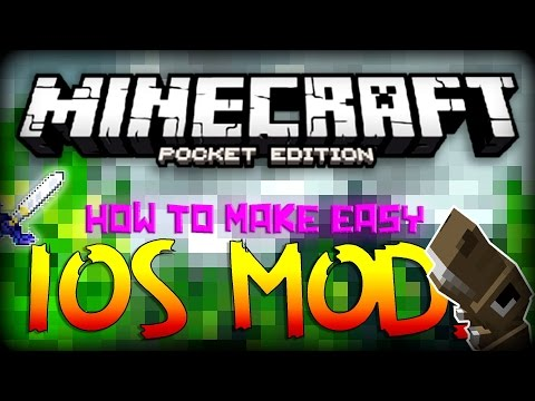 MCPE: How to Create Easy iOS Mods! - Custom Items, Text & MORE!!! | Minecraft Pocket Edition 0.12.1