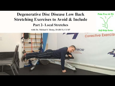 Degenerative Disc Disease Exercises to Avoid and Include- Stretches Part 2