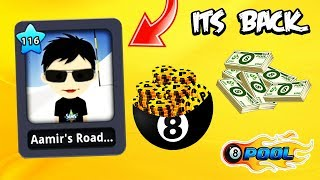 Aamir's Road Is BACK In 8 Ball Pool...(craziness + trickshots)