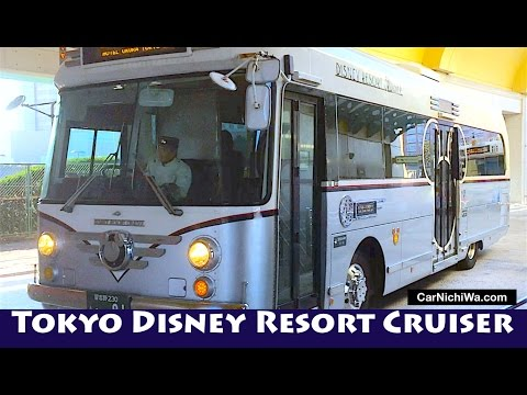 Tokyo Disney Resort Cruiser | Hidden Mickey | Visiting Tokyo Disney Resort | CarNichiWa.com