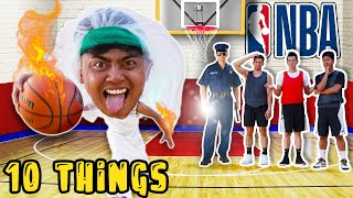 10 Things Not To Do Playing Basketball..