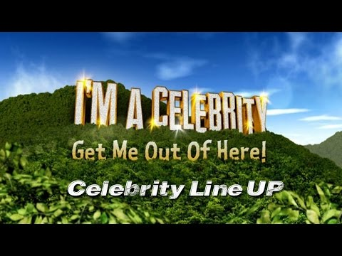 I'm A Celebrity Get Outta Here -  2014 Line Up (OFFICIAL)