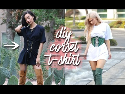 DIY | Corset T-shirt