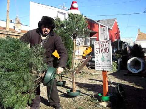 World's Easiest Xmas Tree Stand