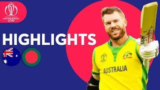 Australia vs Bangladesh | ICC Cricket World Cup 2019 - Match Highlights