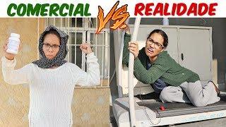 COMERCIAL VS REALIDADE 2! - KIDS FUN