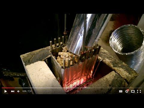 #450 Rocket Stove Pellet Feeder update 2
