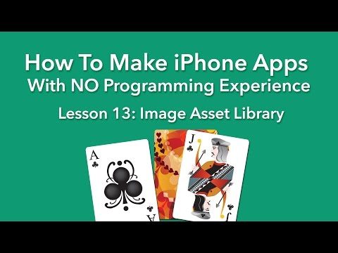 How To Make an App - Ep 13 - Image Asset Library in Xcode 8