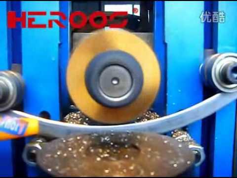 Metal Gasket Outer Rings Grooving Machine