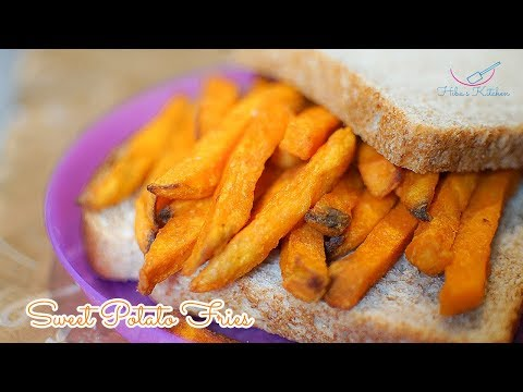 How to Make Healthy Sweet Potato Fries by Hibas Kitchen